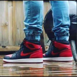 Air Jordan Bred 1. Great Condition!